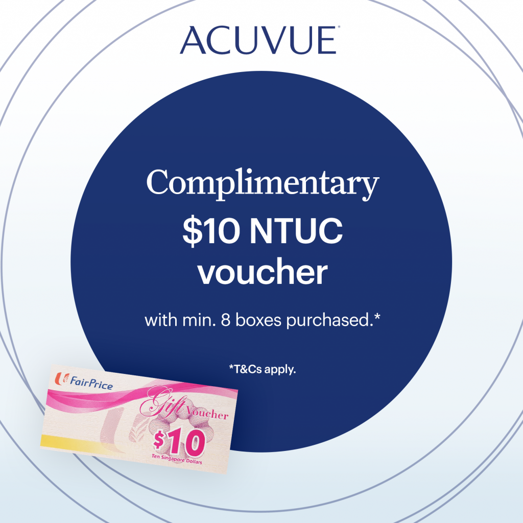 acuvue good to be back promotion