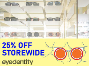eGSS - Shop. Win. Experience. 25% Off Storewide @ Eyedentity